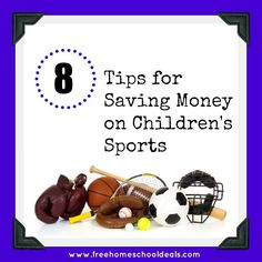 saving money on childrens sports