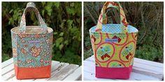 project, bag idea, inspiration, treat bags, shopping bags, quilts, bag tutorials, bag patterns, tote bags