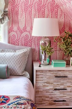 A fun, pink little girl's room