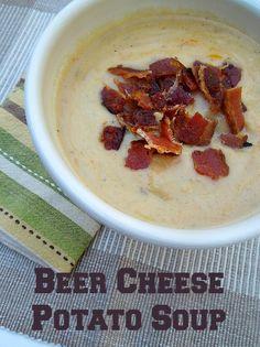 beer cheese potato soup