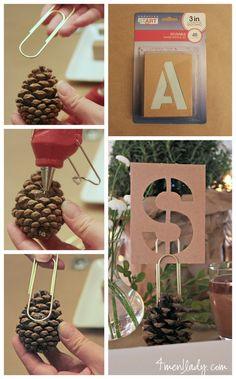 DIY place card holde