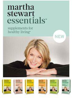Introducing Martha Stewart Essentials: A new line of whole food based supplements! #marthastewart #marthastewartessentials