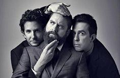 Cooper, Galifianakis, Helms. Funny men.