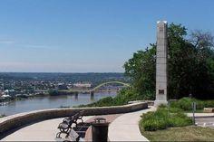 Ohio River Overlook, Cincinnati