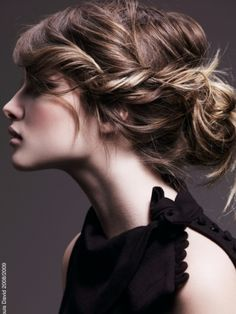 Easy Updo Hair Styles