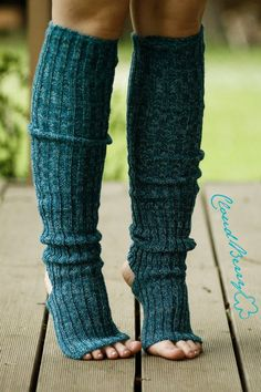Yoga socks / dance socks / boot socks leg warmers