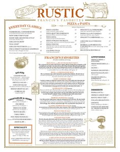RUSTIC, Francis's Favorites | Francis Ford Coppola Winery lunch or dinner at the winery.