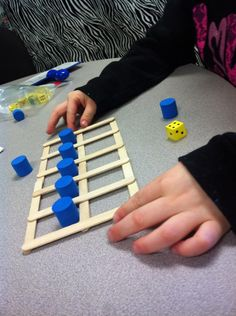 Popsicle tens frames. Easy idea for number sense and early addition.