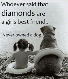A girls best friend...