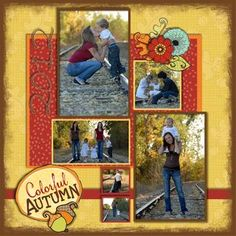Colorful Autumn Digital Scrapbooking Layout using Creative Memories, Detailed Instructions:  http://projectcenter.creativememories.com/digital/2012/09/colorful-autumn-digital-scrapbooking-layout.html __$5.95