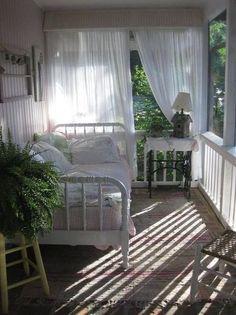 I would like a sleeping porch