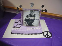 justin beiber cake!!!