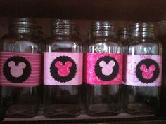 Minnie party glasses