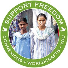 @WorldCrafts Support Freedom Stories {ConneXions ~ India} WorldCrafts and ConneXions are providing hope to former sex trafficking victims in Calcutta, India. #fairtrade #supportfreedom