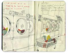visual journal   Bryce Wymer
