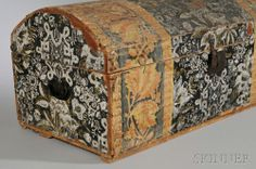 Wallpaper Trunk, NY, 19th century,  Skinner Auctioneers