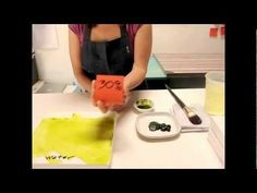 Great lesson about how to start painting with acrylic.