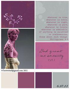 color palette moodboard