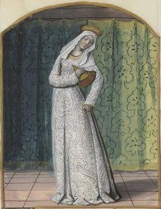 Cleanliness. Alain Chartier, Le Bréviaire des nobles. 15th century, Bibliothèque nationale de France, NAF 18145, f. 103v