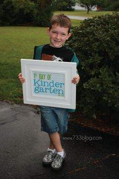 seven thirty three - - - a creative blog: And the voyage {of Kindergarten} begins...