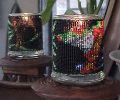 Beaded Frog Candle Holder Pattern and Kit. (Click on the picture to see this item on our website). $17.95