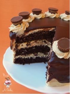 Reeces Peanut Butter Chocolate Cake...oh my!
