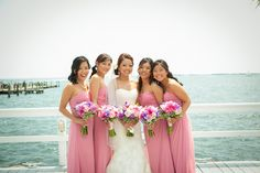 bridesmaid dress, weddings, pink, wedding bridesmaids