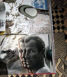 African Journals (Taschen) by Peter Beard | Photo of journal on Kuba cloth: Robyn Gordon