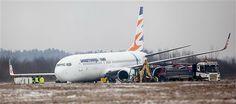 Czech Boeing 737-800 skids off runway in Poland