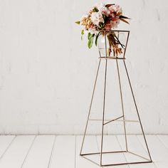 Champagne Plant Stand // Ivy Muse