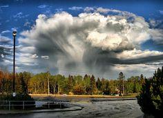 clouds, mushroom cloud, sky, bay ontario, canada, bays, natur, thunder bay, mushrooms