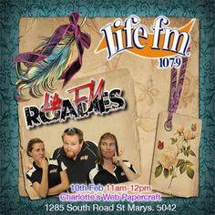 Life FM Roadies paper craft challenge