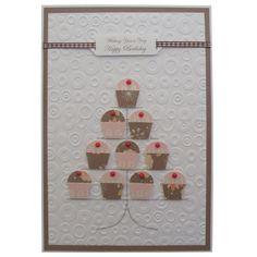 Free P Handmade Cupcakes Birthday Card £3.50
