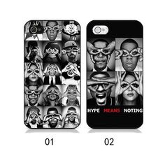 "Fashion ""Hype Means Nothing"" Back Case for Iphone 4 and 4S - iPhone Cases - Cases Guess You Like It"