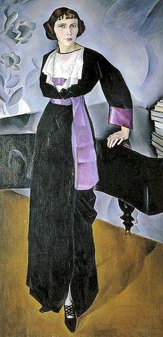 Altman, Natan (1889-1970) - 1914 The Woman at the Piano by RasMarley, via Flickr