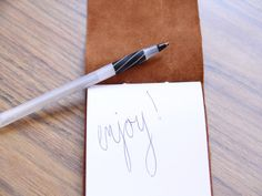 DIY: Leather Notebook - Momtastic