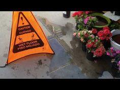 film, wet floor, action movi