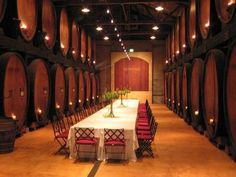 Wineries in Napa and Sonoma Valley.