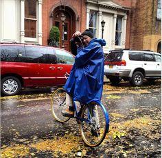 Bill Cunningham back to work after Sandy.