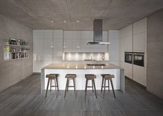 earth tone, liverpool hous, design interiors, snook architect, kitchen designs