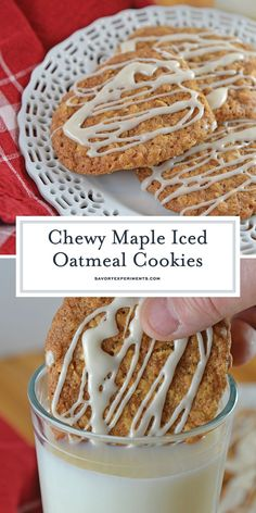Maple Iced Oatmeal C