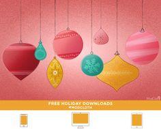 ModCloth holiday wallpaper downloads e2
