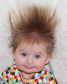 Electrified hair