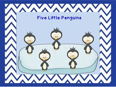 Classroom Freebies: Five Little Penguins Movie