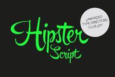Hipster Script by Sudtipos - Desktop Font, WebFont and Mobile Font available at YouWorkForThem.