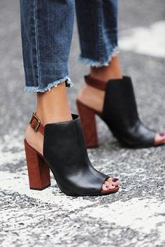 Schutz Coast to Coast Heel Shoes #love