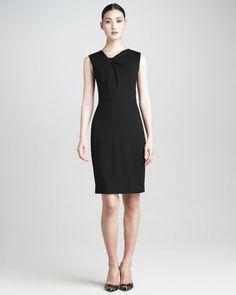 Jason Wu Techno Jersey Twist-Detail Dress $1195.00