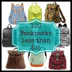 100 BACKPACKS for less than $25! - The Q Tipping Mom