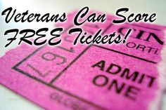 Free tickets to sporting events and concerts... good information to know.