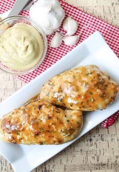 Garlic Maple Dijon Chicken – Gluten Free, gluten free dinner ideas